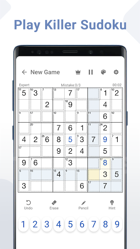 Killer Sudoku - Free Sudoku Puzzles+ 1.3.0 screenshots 1