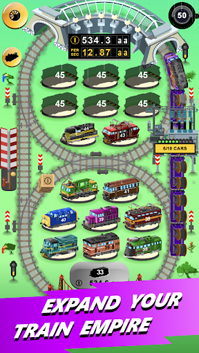 Train Merger - Idle Manager Tycoon apktram screenshots 17