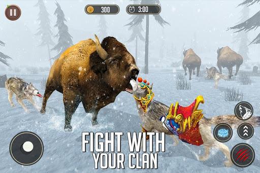 Télécharger simulateur de loup: jeu de jungle sauvage mod apk screenshots 3