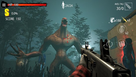 Zombie Hunter D-Day 1.0.801 Mod + Data Download 1