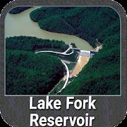 Lake Fork Texas GPS Fishing Chart  Icon