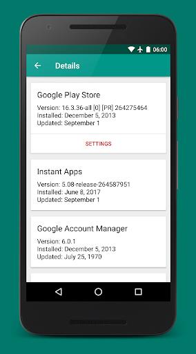 Play Services Info (Update)  screenshots 2