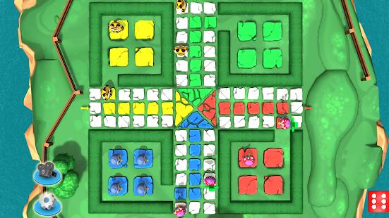 Ludo 3D Multiplayer Screenshot