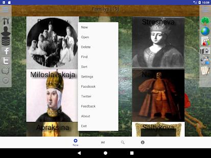 Genealogical trees of families screenshots 9