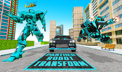 Panther Robot Transform Games screenshots 6