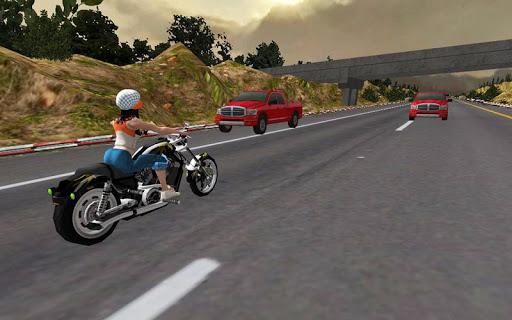 Racing Girl 3D Apkfinish screenshots 5