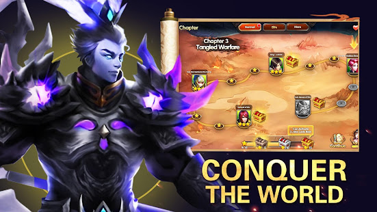 Mod Game Three Kingdoms:Heroes of Legend for Android