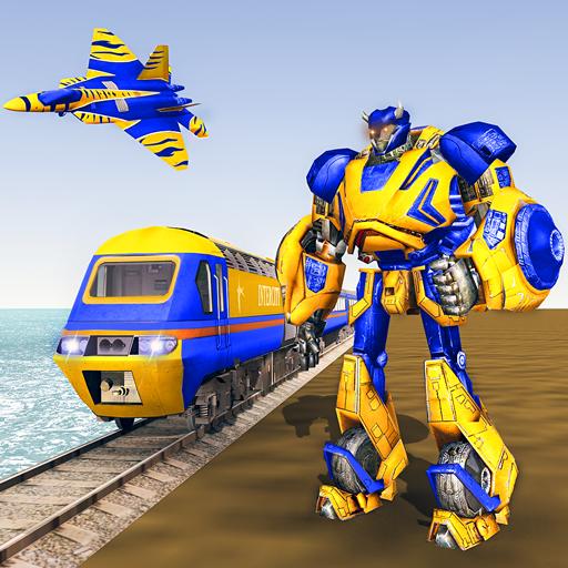 Euro Tren Robot Transformar: Nou Tren Jocs