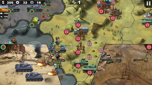 World Conqueror 4 - WW2 Strategy game  screen 1