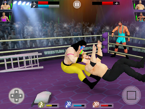 Tag Team Wrestling Games: Mega Cage Ring Fighting modavailable screenshots 19
