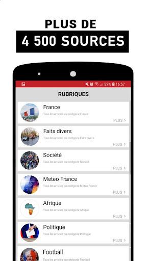 Alertes info: Actualitu00e9 locale et alerte d'urgence 10.7.0 Screenshots 6