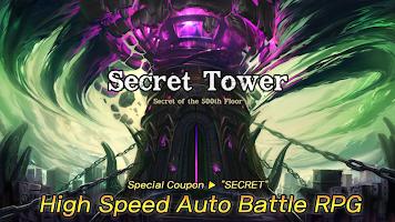 Secret Tower 500F (Super fast growing idle RPG)