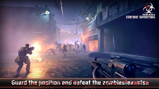 Zombie Defense Shooting: FPS Kill Shot hunting War  screenshots 1