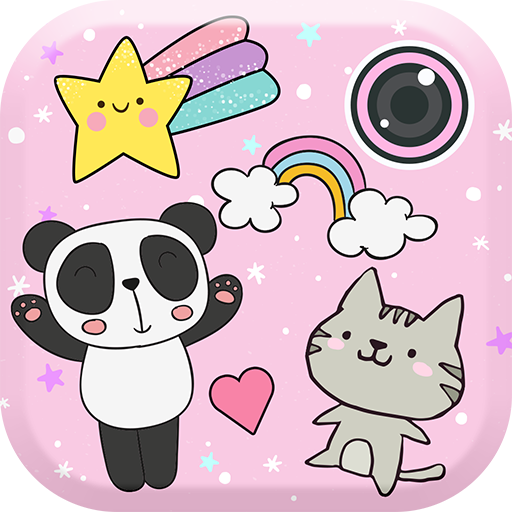 Baixar Cute Photo Editor with Stickers para Android