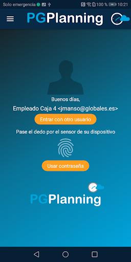 pgplanning portal del empleado screenshot 1