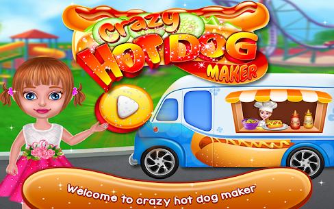 Crazy Hot Dog Maker – Crazy Cooking Adventure Game 1.0.2 Mod APK (Unlock All) 1