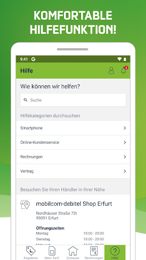 Mein mobilcom-debitel  screenshots 3