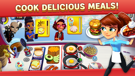 Diner DASH Adventures - Cook Fast & Beat the Clock  screenshots 3