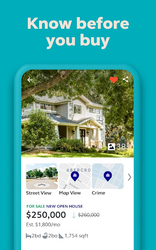 Trulia Real Estate: Search Homes For Sale & Rent 12.2.0 Screenshots 8