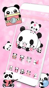 Cute Panda Love Theme For Pc | How To Install (Download On Windows 7, 8, 10, Mac) 2
