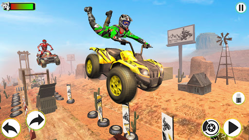 Atv Quad Bike Stunts Racing- New Bike Stunts Game 1.8 screenshots 2