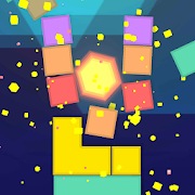 Hexagon Tower Balance: Tap Blocks of Tiles
