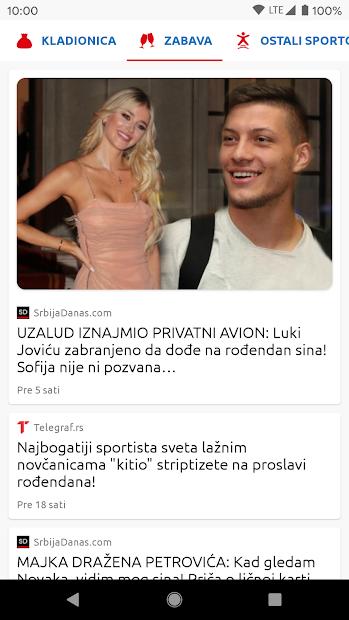 Sport Danas - Sve sportske vesti iz Srbije i sveta screenshot 3