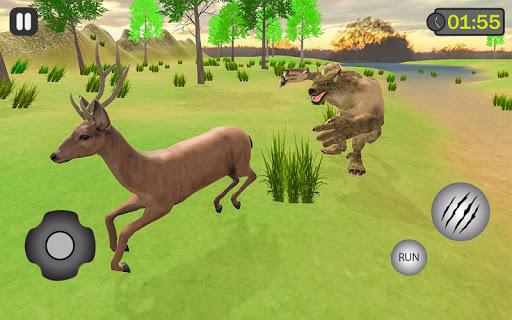 jungle werewolf monster rpg -bigfoot forest hunter screenshots 2