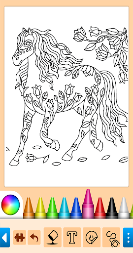 Coloring game for girls and women 15.0.8 screenshots 2