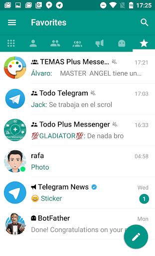 Plus Messenger  screenshots 1