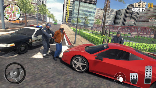 Code Triche Grand Gangster Auto Crime  - Theft Crime Simulator (Astuce) APK MOD screenshots 5