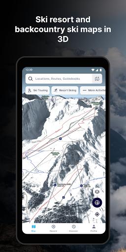 FATMAP: Hike, Bike, Ski Trails - 3D Outdoor Maps apktram screenshots 3