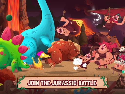 Dino Bash - Dinosaurs v Cavemen Tower Defense Wars 1.3.10 Screenshots 5