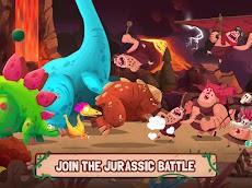 Dino Bash - Dinosaurs v Cavemen Tower Defense Warsのおすすめ画像5