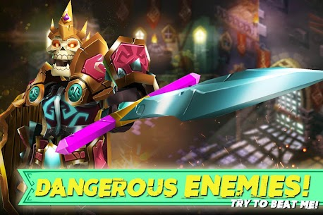 Dungeon Legends – PvP Action MMO RPG Co-op Games 5