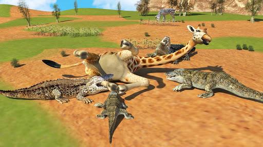 Hungry Crocodile Wild Hunt Simulation Game 8.3 screenshots 5