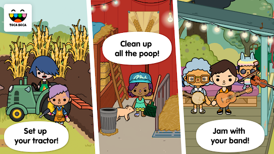 Toca Life: Farm  For Pc – Free Download For Windows 7/8/10 And Mac 2