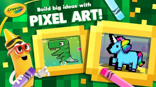 Crayola Create & Play: Coloring & Learning Games  screenshots 2