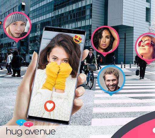HugAvenue - Rencontres en ligne 1.5.7 Screenshots 1