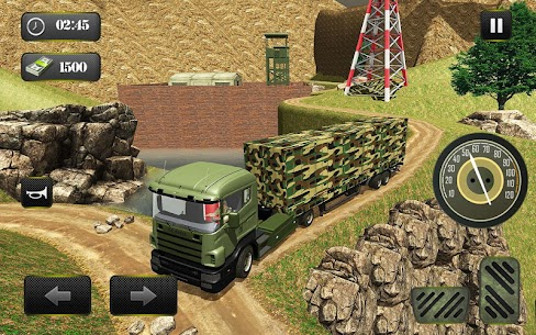 US OffRoad Army Truck driver 2021 10