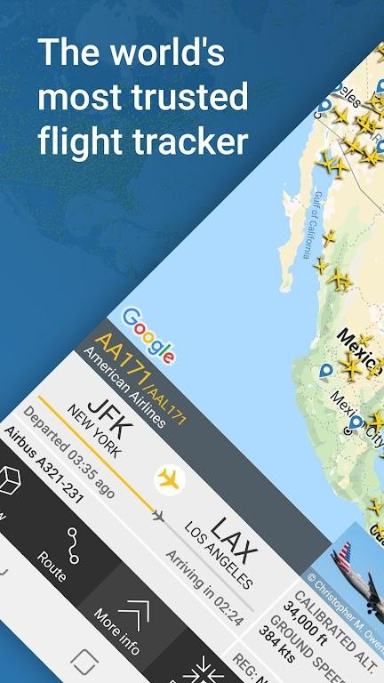 Flightradar24 Flight Tracker poster 0