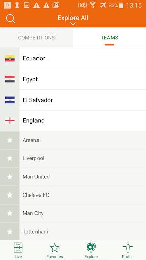 Futbol24 u2013 soccer live scores & results 2.46 Screenshots 6