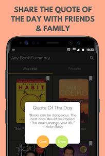 Any Book Summary Mod Apk (Subscription Feature Unlock) 2