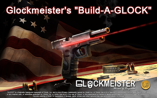 "Glockmeister's ""Build-A-GLOCK"" For PC Windows (7, 8, 10, 10X) & Mac Computer Image Number- 9"