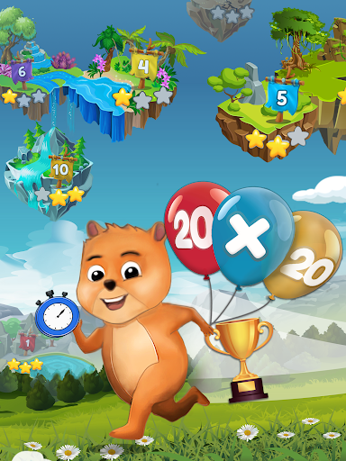 Times Tables: Mental Math Games for Kids Free  screenshots 9
