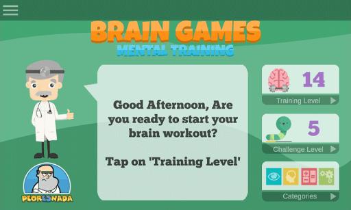 60 Brain Games: Free Mental Training! 56 screenshots 1