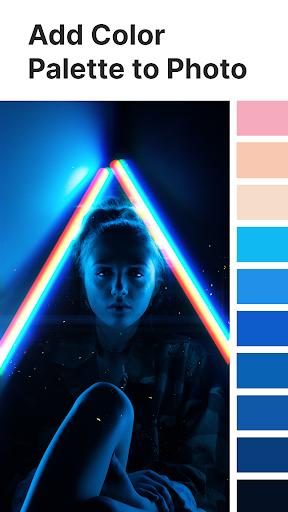 Palette Pantone ud83dudcf7 Add color palettes to photos 2.01 Screenshots 1