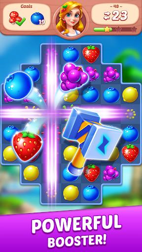 Fruit Diary - Match 3 Games Without Wifi 1.19.1 screenshots 2