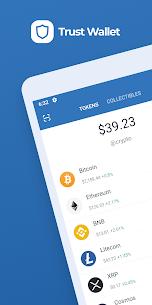 Trust Crypto Wallet: Bitcoin Ethereum Tron XRP PAX 1