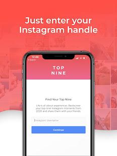 Top Nine for Instagram - Best of 2020 4.0.5 Screenshots 5
